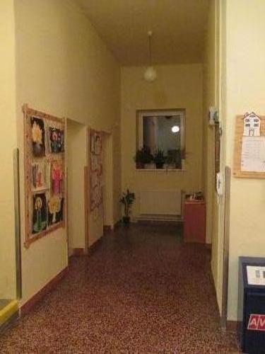 Chodba Zš v poschodí